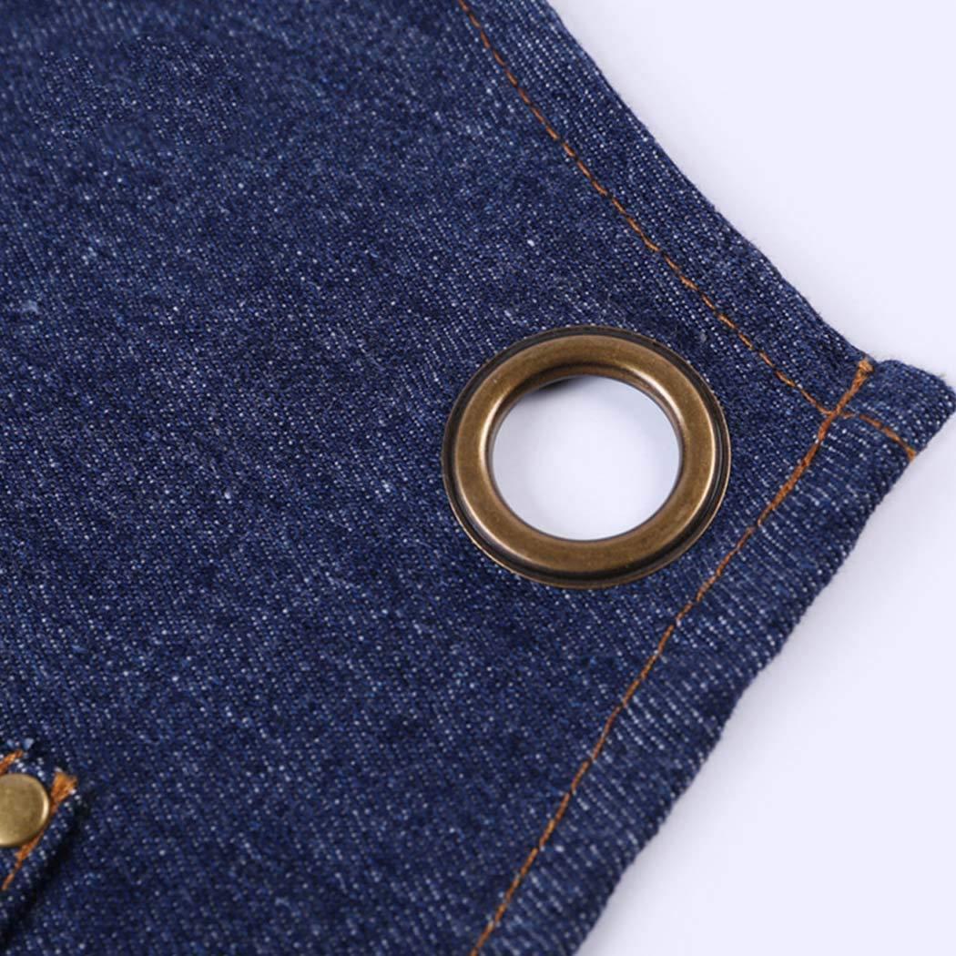 HUIFEI Vollblaue Denim-Schürze Hochwertiges Ärmelloses Anpassbares Hüftgehäuse Für Zuhause Kochanzug Kochanzug Kochanzug (Farbe   Blau) B07MKV714V | Das hochwertigste Material  0cfda0