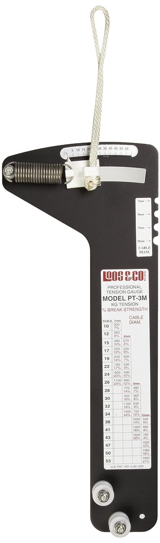 Loos Cableware - Medidor de tensión, sistema métrico, 1800 kg, 1: Amazon.es: Amazon.es