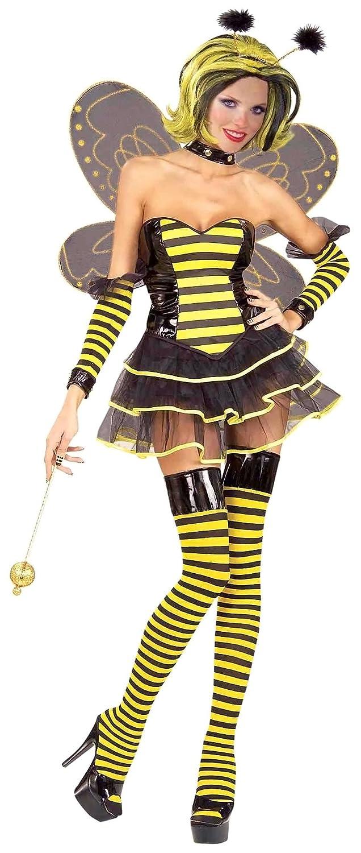 Amazon.com Forum Queen Bee Costume Black/Yellow Large/Medium Clothing  sc 1 st  Amazon.com & Amazon.com: Forum Queen Bee Costume Black/Yellow Large/Medium ...