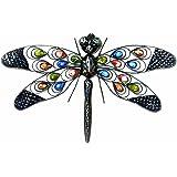 Premier Decorations BA122389 56 x 38 cm Dragonfly Wall Art
