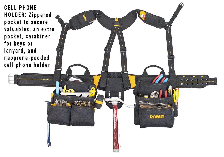 DEWALT DG5617 20-Pocket Pro Framer's Combo Apron Tool Belt and Yoke-style Suspenders by DEWALT (Image #3)