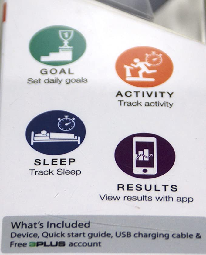 Amazon.com: 3plus International Inc 3plus Snap Activity Tracker - Tracks Sleep Activity And Calories: Computers & Accessories