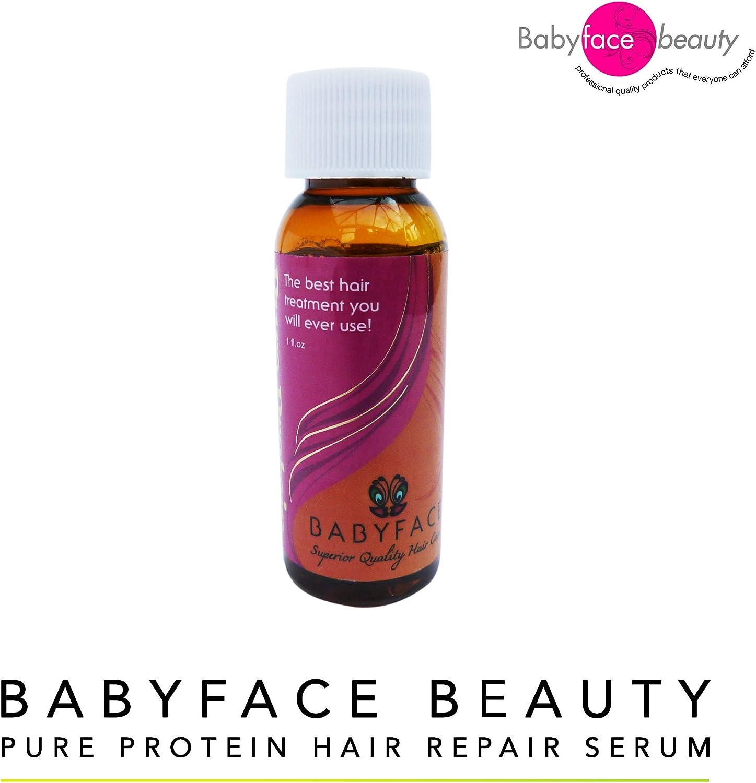 Babyface Beauty Pure Protein Hair Repair Serum, Repair Color Damaged frizzy Hair