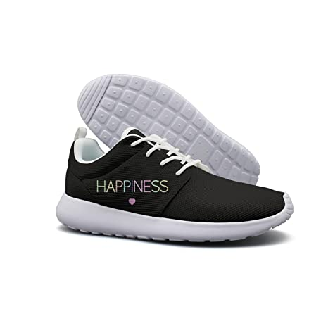 sports shoes a87d0 eb809 Ulysses Pater Mens Lightweight Sports Running Shoes Happiness Heart Love  Women Lightweight Walking Jogging Gym Outdoor
