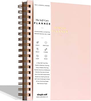 Paperback Book New A Self Care Journal to Develop Positive.. Self Care Planner