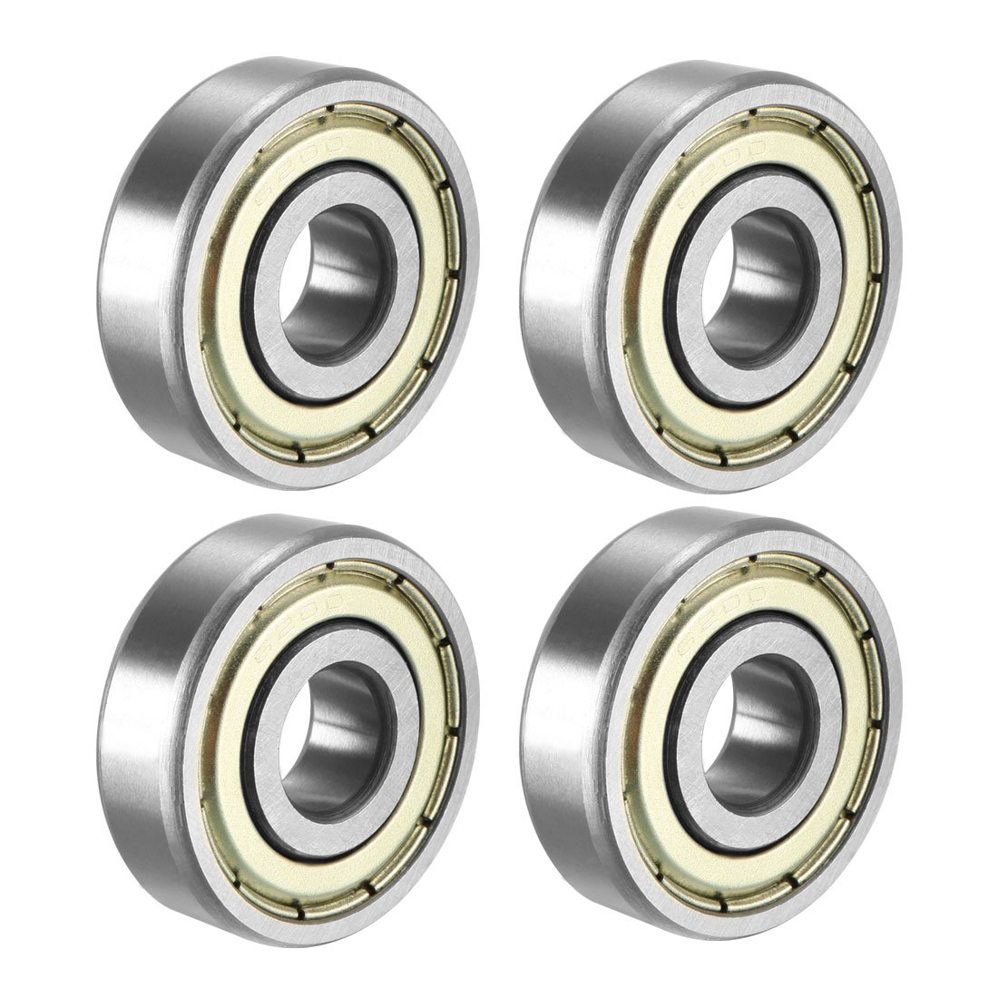 uxcell 683ZZ Ball Bearing 3mm x 7mm x 3mm Double Shielded 683-2Z Deep Groove Bearings Pack of 20 Carbon Steel