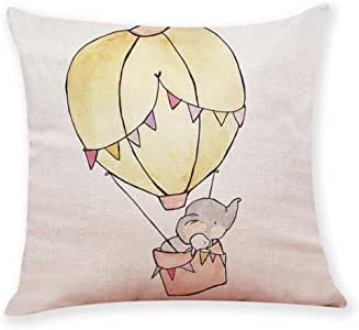 Lovely Cartoon Flying Balloon Elephant Hedgehog Deer