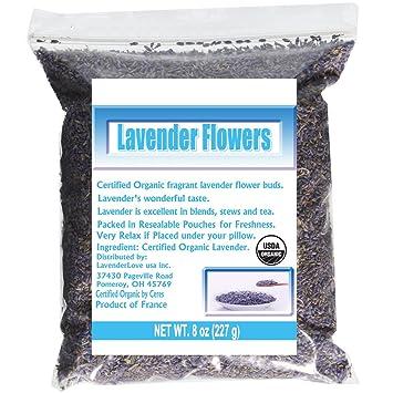 Amazon.com : CCnature French Lavender Flowers USDA Organic Dried ...