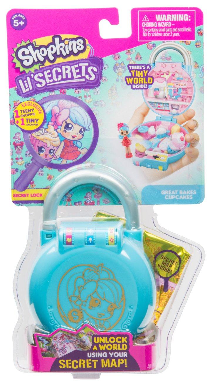 Amazon.com: Shopkins Lil\' Secrets Secret Lock - Great Bakes Cupcakes ...