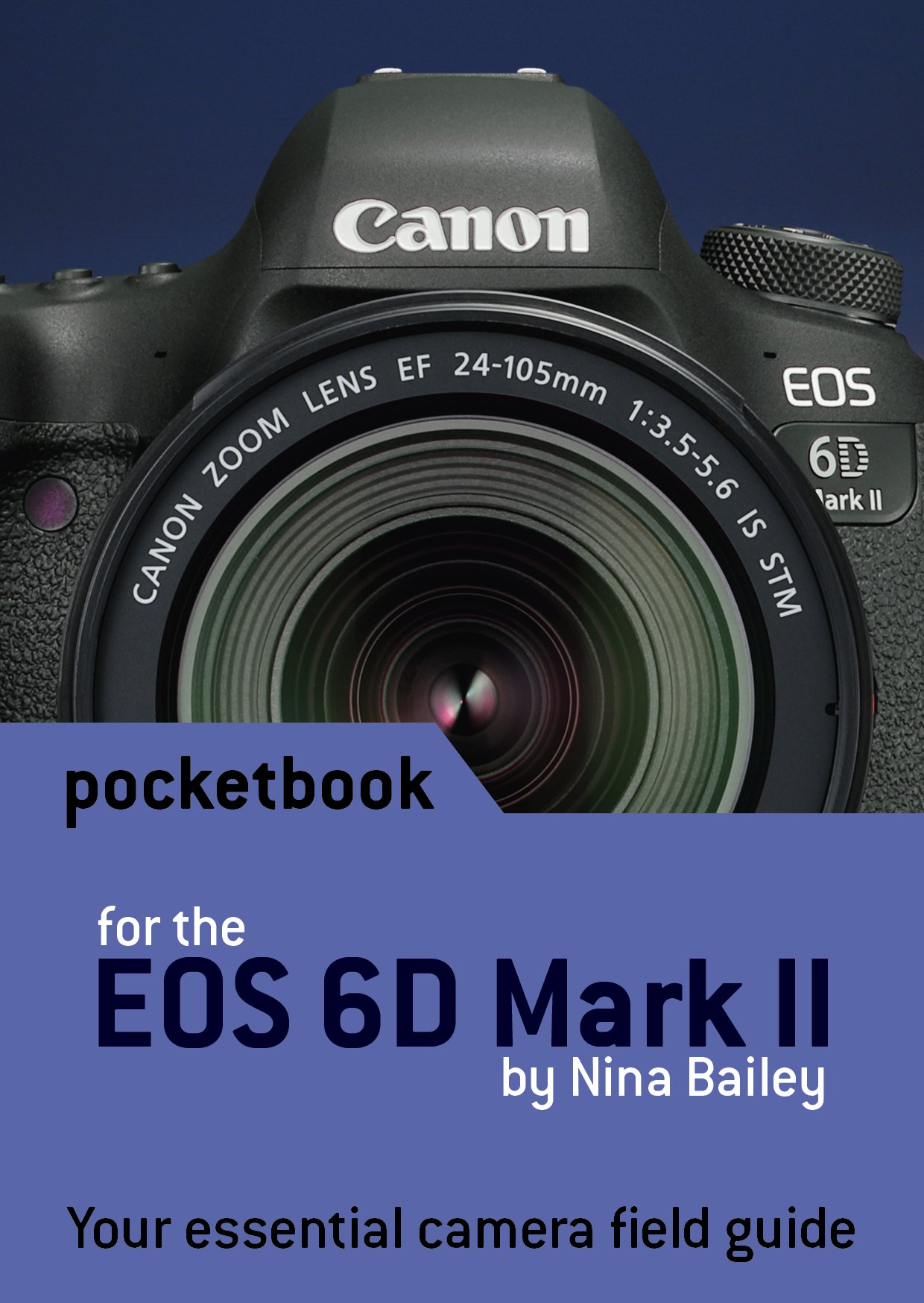Canon EOS 6D Mark II Pocketbook: camera field guide: Amazon.es ...