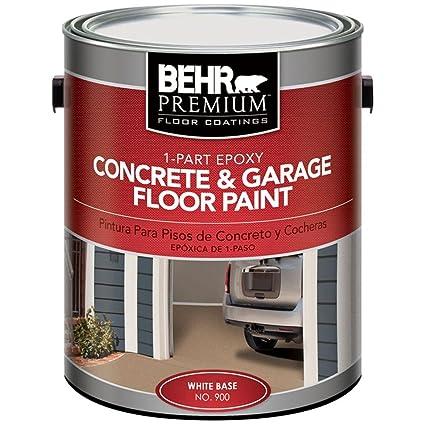 Amazon Behr Premium 1 Gal Satin 1 Part Epoxy Acrylic Concrete