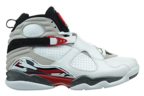 1edd2413e76 Jordan Air 8 Retro Bugs Bunny Mens Shoes White Black-True Red 305381-