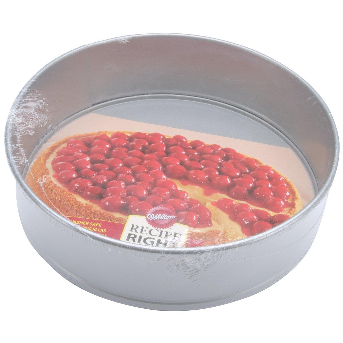 Wilton Recipe Right Non-Stick Springform Cake Pan, 10-Inch