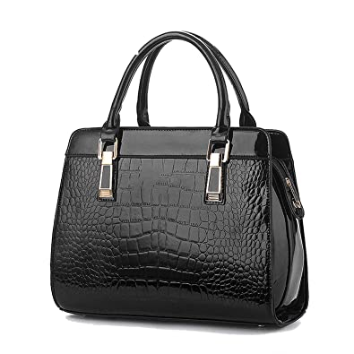 8d5bf5d4d6c89 Women Handbags 2018 Genuine Leather Crocodile Fashion Shoulder Bags  European Style Atmosphere Woman Messenger Bag,