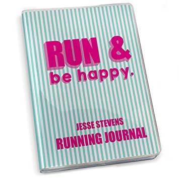 Goneforarun running journal run and be happy amazon office goneforarun running journal run and be happy publicscrutiny Choice Image