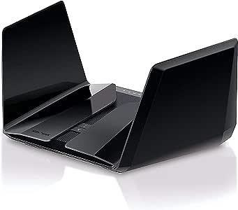 NETGEAR Nighthawk 12-Stream AX12 Wifi 6 Router (RAX200) - AX11000 Tri-Band Wireless Speed (Up to 10.8 Gbps)   2,500 sq. ft. Coverage