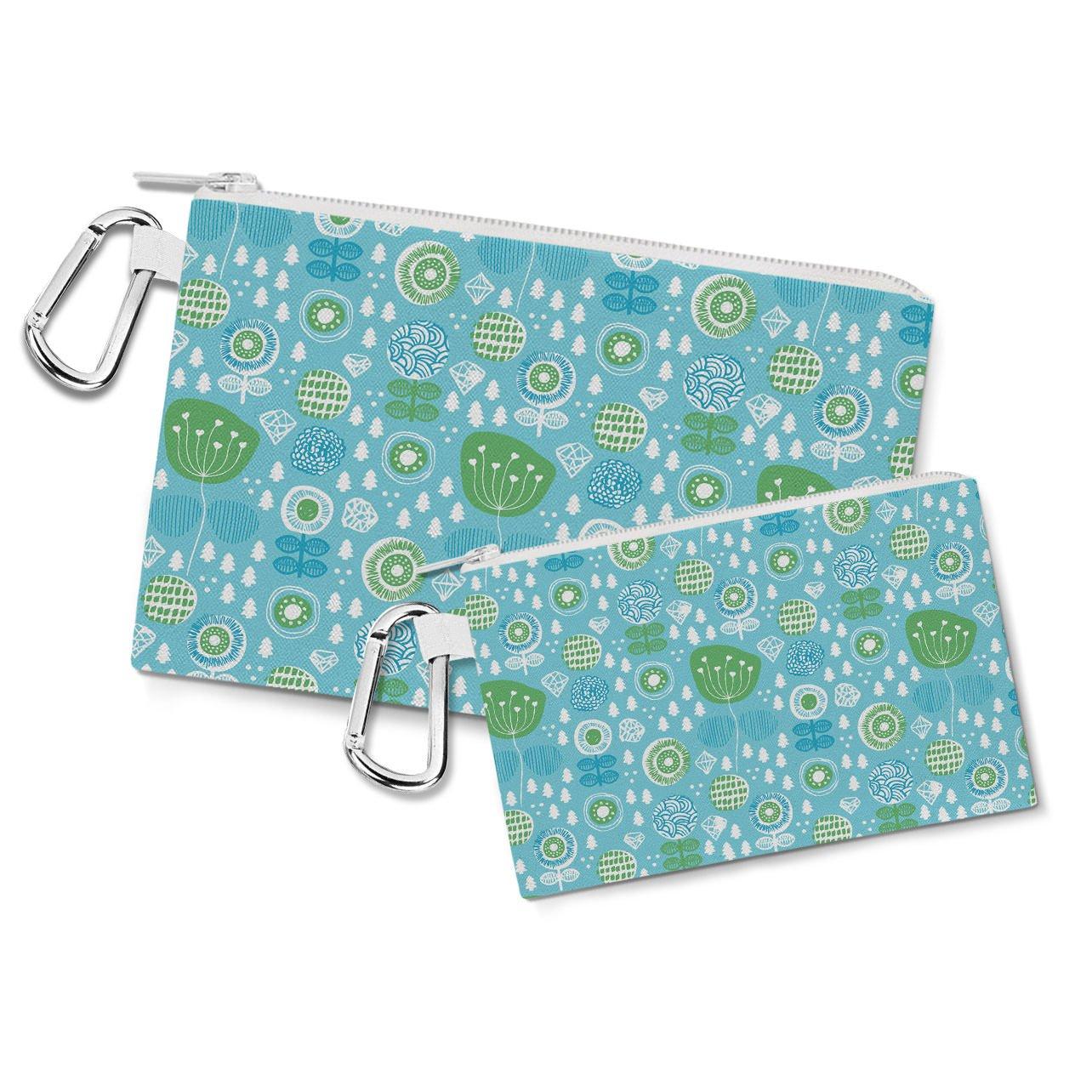 Amazon.com: Poppy Garden Bolsa de lona para funda con cierre ...