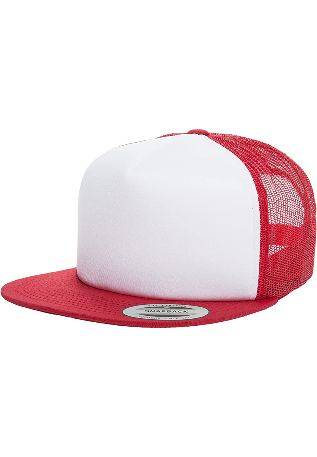 Urban Classics Foam Trucker with White Front red//wht//red one Size