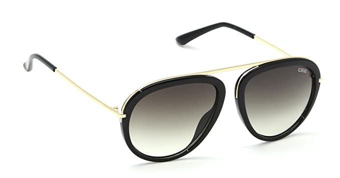 4cf9a0140693b Image Unavailable. Image not available for. Colour  IDEE S2221-C2 Medium  54mm Green Shaded Aviator Sunglasses