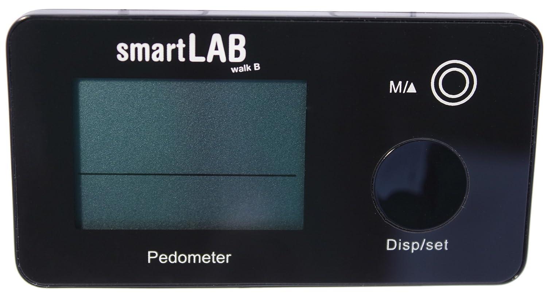 SmartLab walk B contador de pasos con azultooth 4.0 (BLE) para la transmisión inalámbrica de datos: Amazon.es: Deportes y aire libre