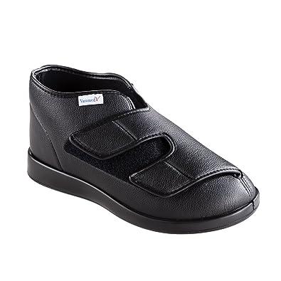 Varomed - Zapatos de cordones de tela para hombre Negro negro 39, color Negro, talla 50 EU