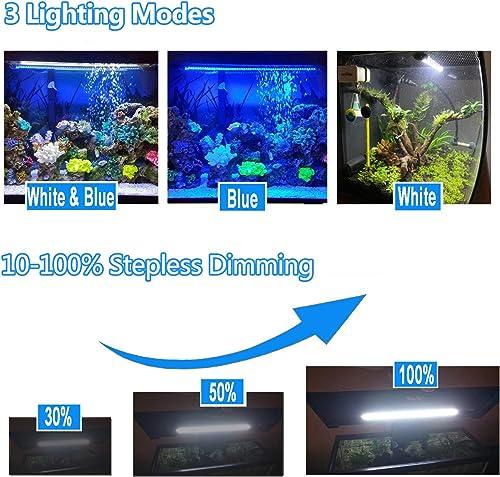 3 lighting modes