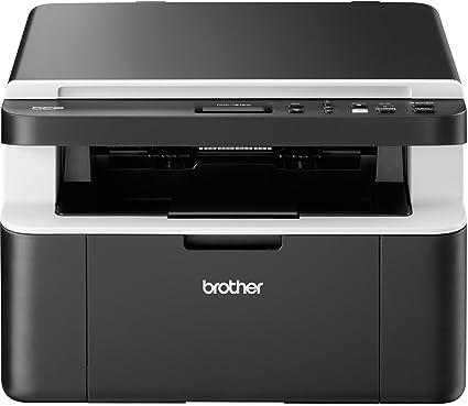 Brother DCP-1612W Multifuncional - Impresora multifunción (Laser, Mono, Mono, 20 ppm, 2400 x 600 dpi, GDI) Negro, Color Blanco