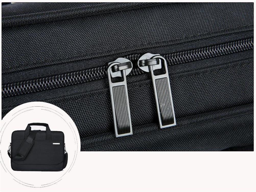 ZGSP Laptop Case 13.3-15.6 Waterproof Nylon Laptop Case with Handle and Zipper Bag//Laptop Case//Tablet Briefcase Carrying Case 13