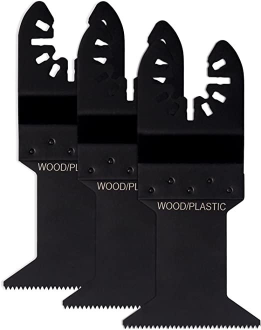 6 Wood Metal Oscillating MultiTool Saw Blade For Craftsman Nextec Ryobi Jobmax