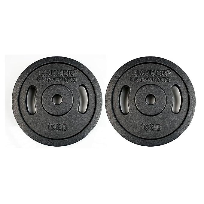 Hammer 4654 Disco de Pesas - Discos de Pesas: Amazon.es: Deportes ...