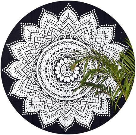 Alex Grey Design Side Round Beach Towel Tapestry Yoga