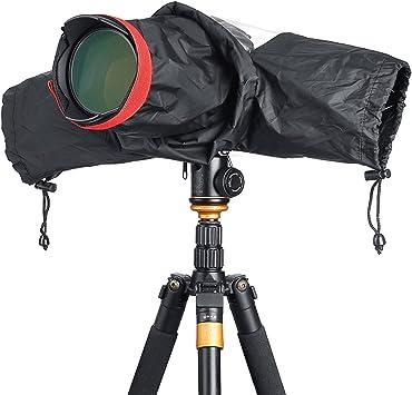 Professional Waterproof DSLR Camera Rain Cover for Digital SLR Cameras Great for Rain Dirt Sand Snow Protection