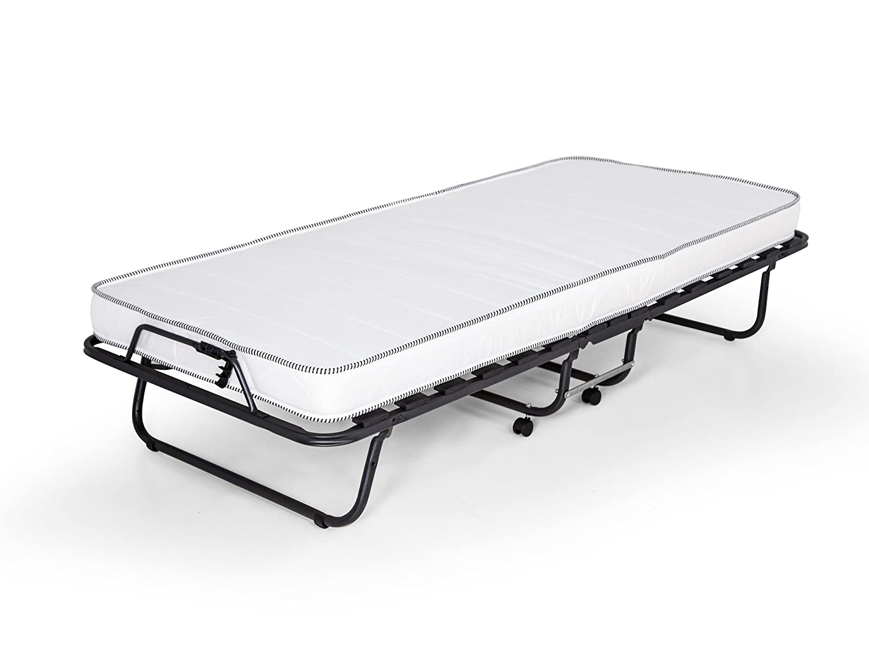 metallbett silber 90 200. Black Bedroom Furniture Sets. Home Design Ideas