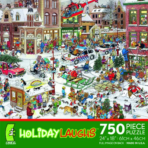 Holiday Laughs - 750 Piece Puzzle