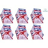 Nappy for New Born Baby - Set of 18 Pcs / Cotton Cloth Diapers / Langot for Babies # 0-6 months # Double Layer Nappies # U Shaped # Washable and Reusable # Pack of 18 by Dolphers