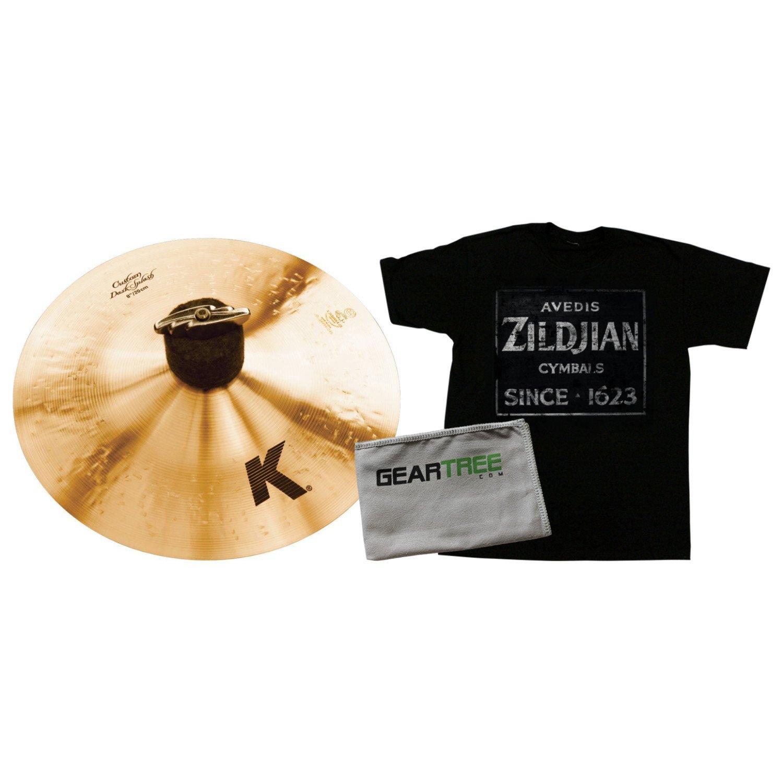 Zildjian K0930 8 Inch K CUSTOM DARK SPLASH w/Zildjian T4674 QUINCY VINTAGE SIGN K0930 BUNDLE