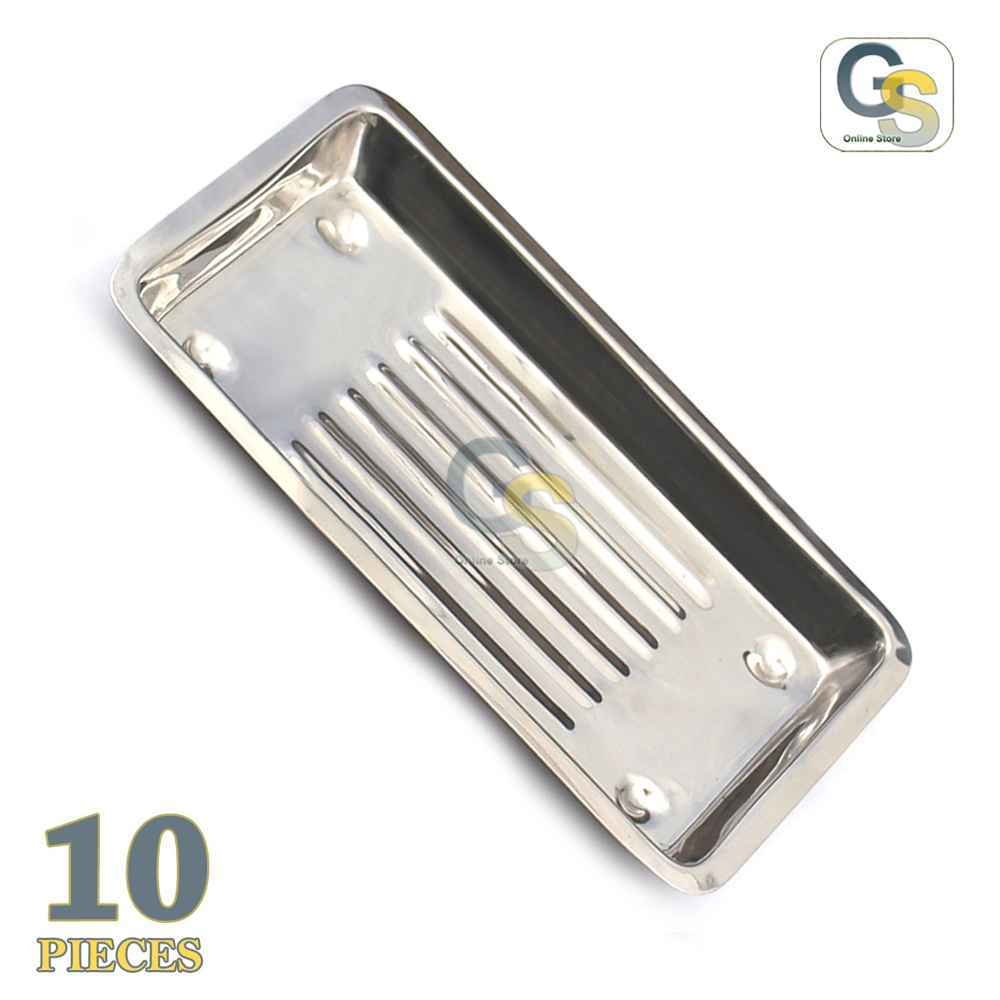 G.S Set of 10 Piece Scaler Tray Dental Instruments Best Quality by G.S ONLINE STORE