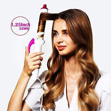 Rizador de pelo infrarrojo profesional, rizador de cabello de ...