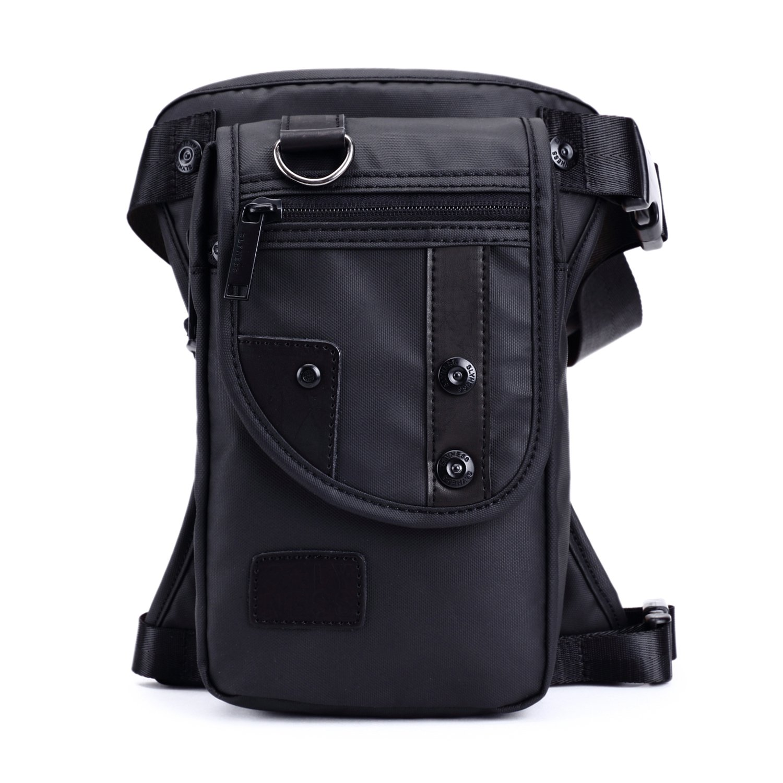Foino Bolso de Cintura Hombre Riñonera Deporte Bolsa de Pierna Gimnasio Bolsos Outdoor Sport Bag Pequeñas Bolsas de Viaje Carteras Movil