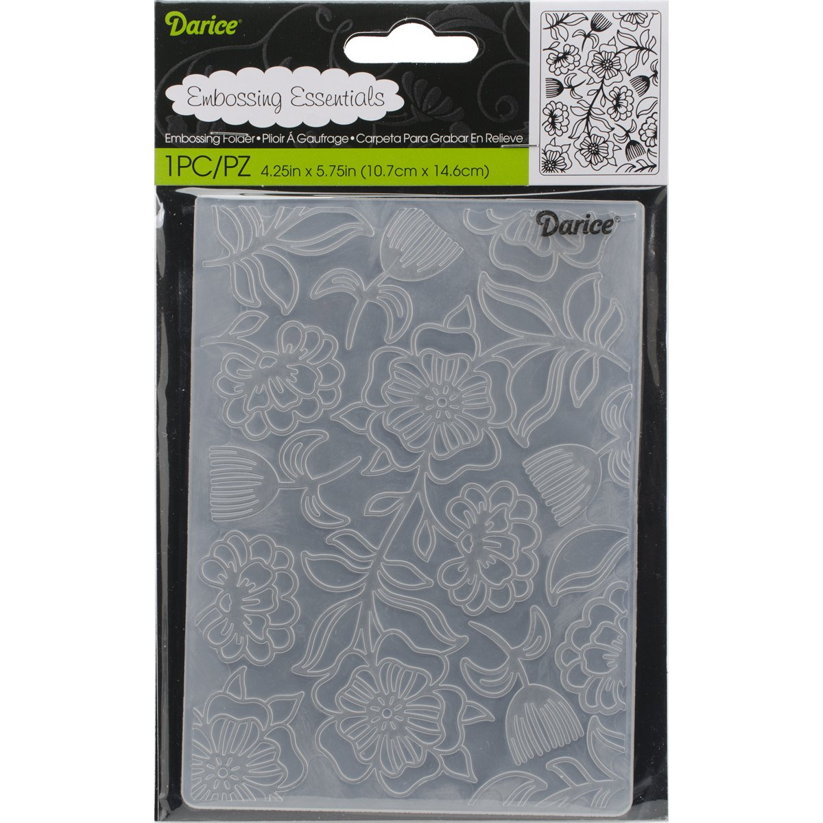 4.25 x 5.75 Darice Embossing Folder Nautical