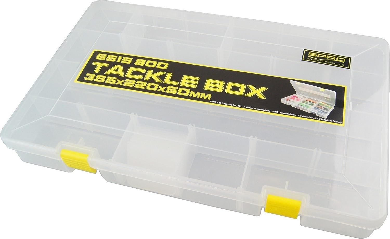 Kunstköderbox Spro Hardbaits Box L 27x17,5x4,5cm- Tacklebox Köderbox Angelbox
