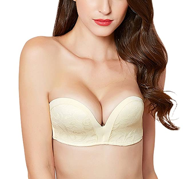 ca5965cda05ff RANDELL Strapless Bra for Women