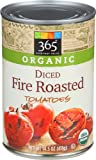 365 Everyday Value, Organic Diced Fire Roasted Tomatoes, 14.5 Ounce