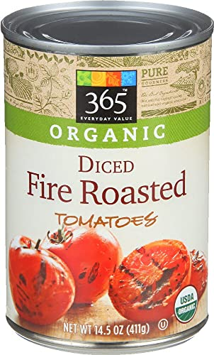 365 Everyday Value Organic Diced Tomatoes, Fire Roasted