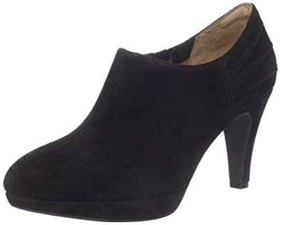 Clarks Women's Wessex Azure Ankle Boot,Black Suede,9.5 ...