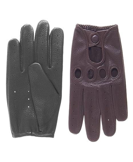 American Classics Men's Deerskin Driving Gloves at Amazon Men's Clothing  store: