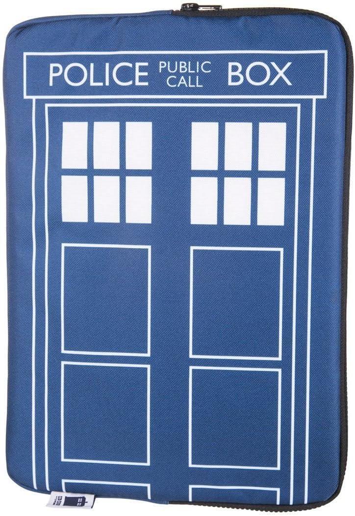 "Doctor Who Homeware Tardis Laptop Case 13"" Blue"