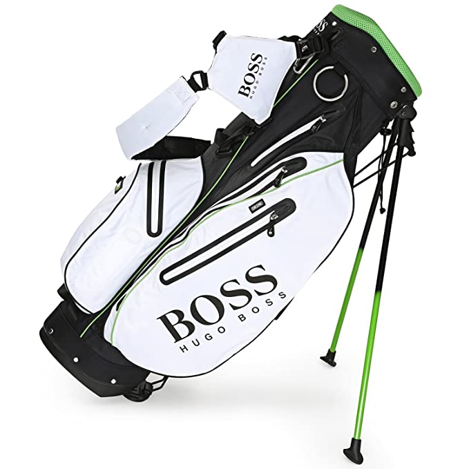 BOSS Hugo bolsa para palos de golf, color blanco - Negro ...