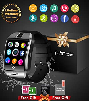 Smart Watch,Tel¨¦fonos Inteligentes Reloj Inteligente Smart Watch Reloj Inteligente Hombre Mujer Reloj Deportivo Soporte SIM / TF para Android Samsung ...