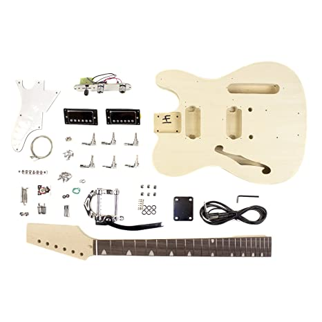 Estilo de cuerpo Creux Semi T – Kit de proyecto de guitarra ...